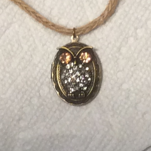 50 off just for fun jewelry owl locket necklace on for Jewelry just for fun
